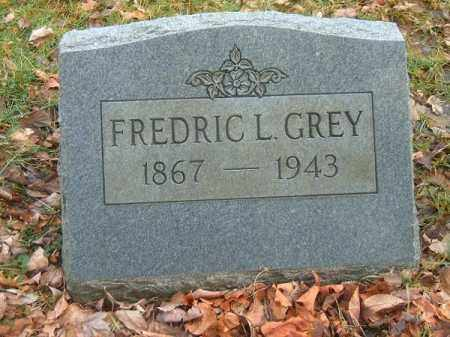 GREY, FREDRIC  L - Clermont County, Ohio | FREDRIC  L GREY - Ohio Gravestone Photos