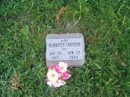 GRITTITH, HARRIETT - Clermont County, Ohio | HARRIETT GRITTITH - Ohio Gravestone Photos