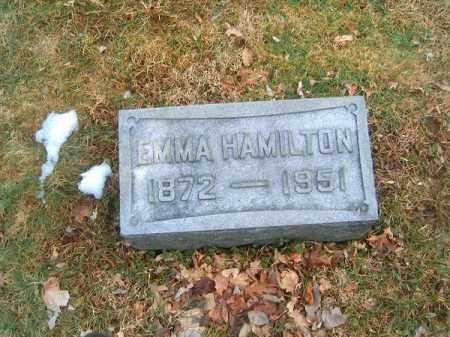 HAMILTON, EMMA - Clermont County, Ohio | EMMA HAMILTON - Ohio Gravestone Photos