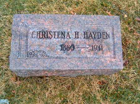 HAYDEN, CHRISTENA  H - Clermont County, Ohio | CHRISTENA  H HAYDEN - Ohio Gravestone Photos