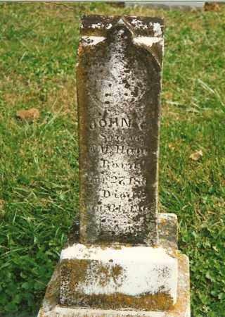 HAYES, JOHN C. - Clermont County, Ohio | JOHN C. HAYES - Ohio Gravestone Photos
