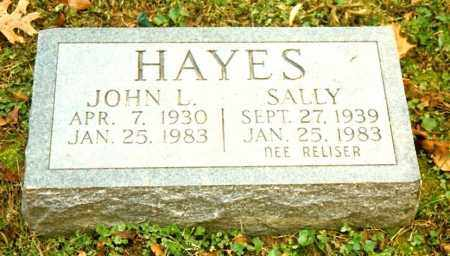 RELISER HAYES, SALLY - Clermont County, Ohio | SALLY RELISER HAYES - Ohio Gravestone Photos