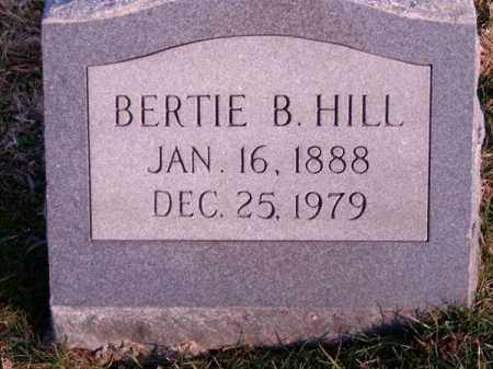 HILL, BERTIE  B - Clermont County, Ohio | BERTIE  B HILL - Ohio Gravestone Photos