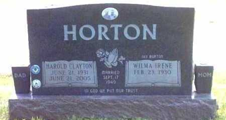 HORTON, HAROLD - Clermont County, Ohio | HAROLD HORTON - Ohio Gravestone Photos