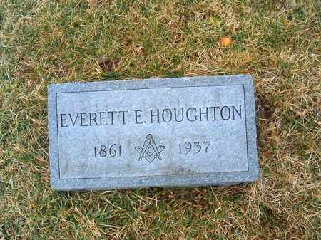 HOUGHTON, EVERETT  E - Clermont County, Ohio | EVERETT  E HOUGHTON - Ohio Gravestone Photos