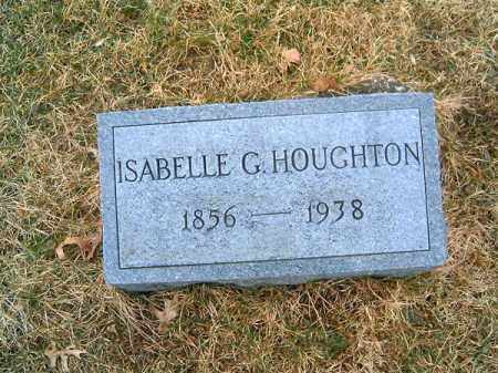 HOUGHTON, ISABELL  G - Clermont County, Ohio | ISABELL  G HOUGHTON - Ohio Gravestone Photos