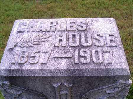 HOUSE, CHARLES - Clermont County, Ohio | CHARLES HOUSE - Ohio Gravestone Photos