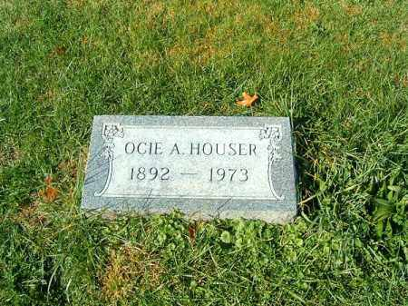HOUSER, OCIE  A - Clermont County, Ohio | OCIE  A HOUSER - Ohio Gravestone Photos