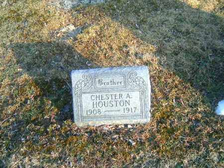 HOUSTON, CHESTER  A - Clermont County, Ohio | CHESTER  A HOUSTON - Ohio Gravestone Photos