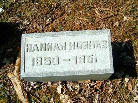 HUGHES, HANNAH - Clermont County, Ohio | HANNAH HUGHES - Ohio Gravestone Photos