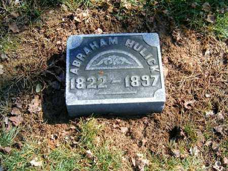 HULICK, ABRAAHAM - Clermont County, Ohio | ABRAAHAM HULICK - Ohio Gravestone Photos