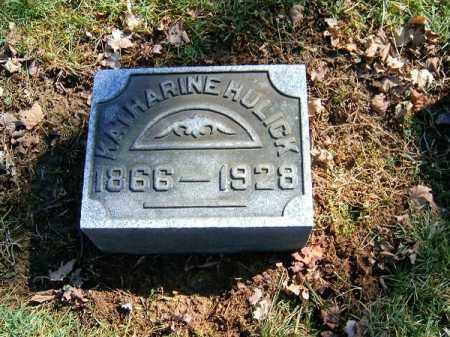 HULICK, KATHARINE - Clermont County, Ohio | KATHARINE HULICK - Ohio Gravestone Photos