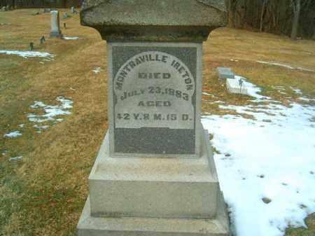 IRETON, MONTRAVILLE - Clermont County, Ohio | MONTRAVILLE IRETON - Ohio Gravestone Photos