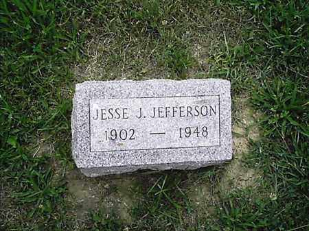 JEFFERSON, JESSE   J - Clermont County, Ohio | JESSE   J JEFFERSON - Ohio Gravestone Photos
