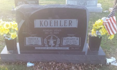 KOEHLER, MARGARET M. - Clermont County, Ohio | MARGARET M. KOEHLER - Ohio Gravestone Photos