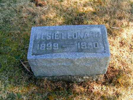 LEONARD, ELISE - Clermont County, Ohio | ELISE LEONARD - Ohio Gravestone Photos