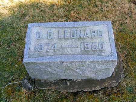 LEONARD, O  Q - Clermont County, Ohio | O  Q LEONARD - Ohio Gravestone Photos