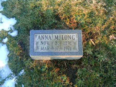LONG, ANNA  M - Clermont County, Ohio | ANNA  M LONG - Ohio Gravestone Photos