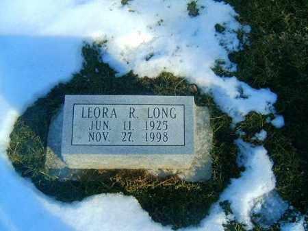 LONG, LEORA  R - Clermont County, Ohio | LEORA  R LONG - Ohio Gravestone Photos
