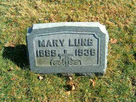 LUNG, MARY - Clermont County, Ohio | MARY LUNG - Ohio Gravestone Photos