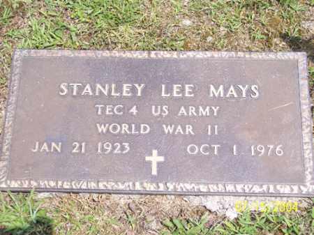 MAYS, STANLEY - Clermont County, Ohio | STANLEY MAYS - Ohio Gravestone Photos