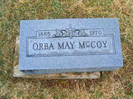 MCCOY, ORBA  MAY - Clermont County, Ohio | ORBA  MAY MCCOY - Ohio Gravestone Photos