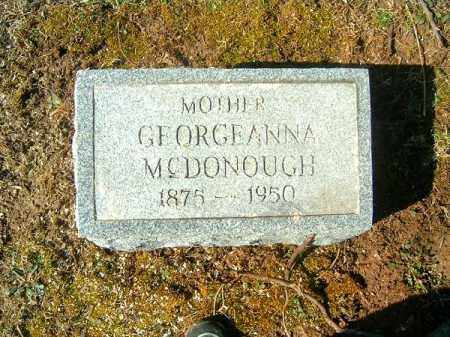 MCDONOUGH, GEORGEANNA - Clermont County, Ohio | GEORGEANNA MCDONOUGH - Ohio Gravestone Photos