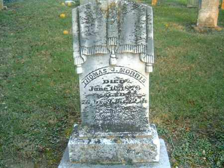 MORRIS, THOMAS  J - Clermont County, Ohio | THOMAS  J MORRIS - Ohio Gravestone Photos