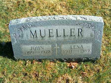 MUELLER, LENA - Clermont County, Ohio | LENA MUELLER - Ohio Gravestone Photos