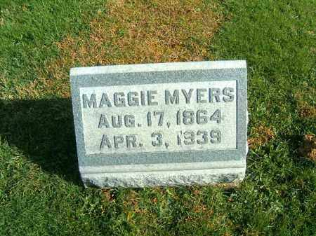 MYERS, MAGGIE - Clermont County, Ohio | MAGGIE MYERS - Ohio Gravestone Photos