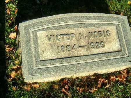 NOBIS, VICTOR   H - Clermont County, Ohio | VICTOR   H NOBIS - Ohio Gravestone Photos