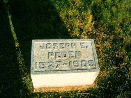 PEDEN, JOSEPH  E - Clermont County, Ohio | JOSEPH  E PEDEN - Ohio Gravestone Photos