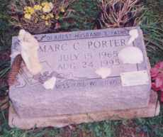 PORTER, MARC - Clermont County, Ohio | MARC PORTER - Ohio Gravestone Photos