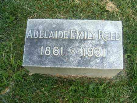 REED, ADELAIDE  EMILY - Clermont County, Ohio | ADELAIDE  EMILY REED - Ohio Gravestone Photos