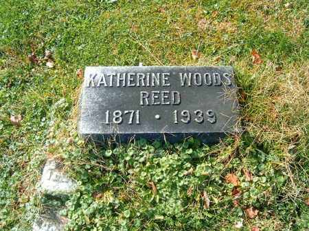 WOODS REED, KATHERINE - Clermont County, Ohio | KATHERINE WOODS REED - Ohio Gravestone Photos