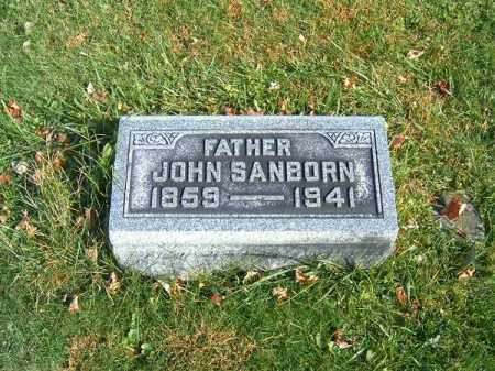 SANBORN, JOHN - Clermont County, Ohio | JOHN SANBORN - Ohio Gravestone Photos