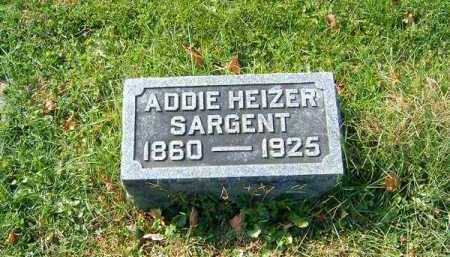 HEIZER SARGENT, ADDIE - Clermont County, Ohio | ADDIE HEIZER SARGENT - Ohio Gravestone Photos
