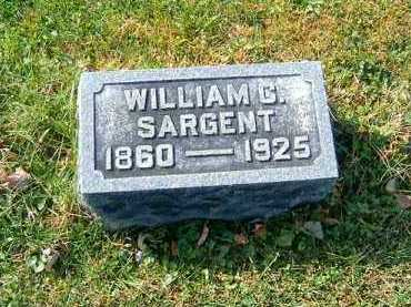 SARGENT, WILLIAM  C - Clermont County, Ohio | WILLIAM  C SARGENT - Ohio Gravestone Photos