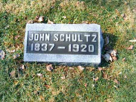 SCHULTZ, JOHN - Clermont County, Ohio | JOHN SCHULTZ - Ohio Gravestone Photos
