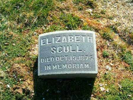 SCULL, ELIZABETH - Clermont County, Ohio | ELIZABETH SCULL - Ohio Gravestone Photos