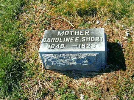 SHORT, CAROLINE  E - Clermont County, Ohio | CAROLINE  E SHORT - Ohio Gravestone Photos