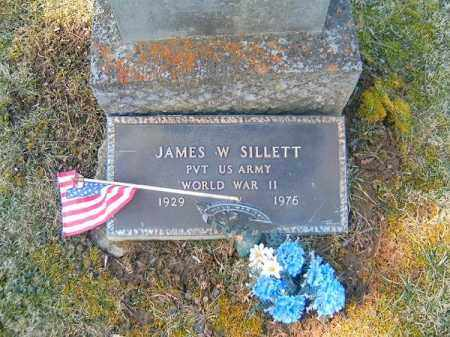 SILLETT, JAMES  W - Clermont County, Ohio | JAMES  W SILLETT - Ohio Gravestone Photos