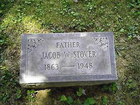STOVER, JACOB   W - Clermont County, Ohio | JACOB   W STOVER - Ohio Gravestone Photos