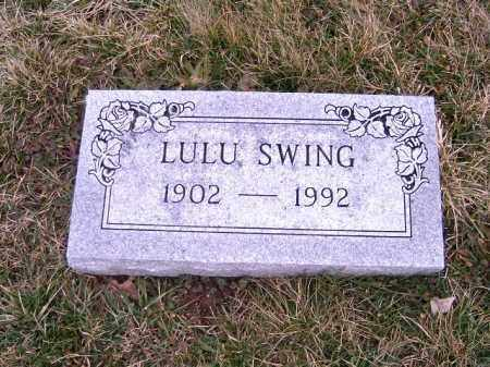 SWING, LULU - Clermont County, Ohio | LULU SWING - Ohio Gravestone Photos