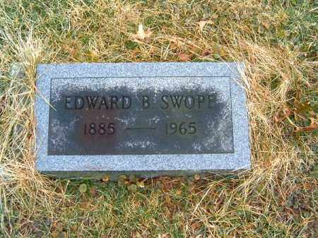 SWOPE, EDWARD  B - Clermont County, Ohio | EDWARD  B SWOPE - Ohio Gravestone Photos