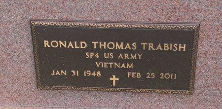 TRABISH, RONALD THOMAS - Clermont County, Ohio | RONALD THOMAS TRABISH - Ohio Gravestone Photos