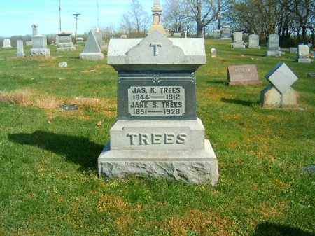 TREES, JAS  K - Clermont County, Ohio | JAS  K TREES - Ohio Gravestone Photos