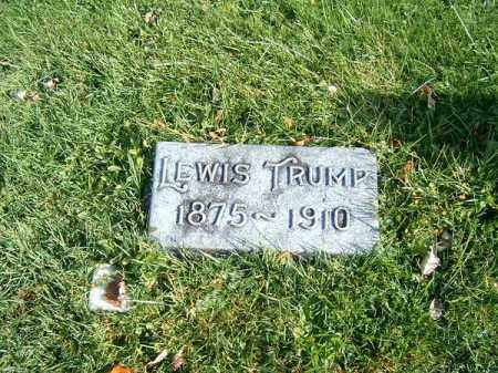 TRUMP, LEWIS - Clermont County, Ohio | LEWIS TRUMP - Ohio Gravestone Photos