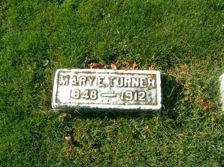 TURNER, MARY  E - Clermont County, Ohio | MARY  E TURNER - Ohio Gravestone Photos
