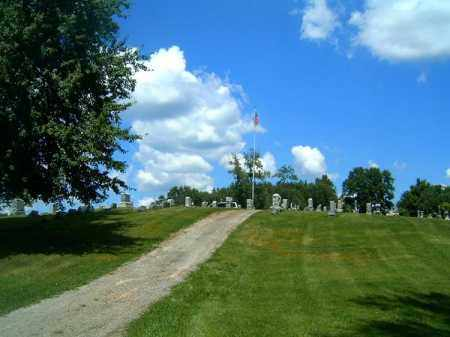 VIEW, LAUREL CARMEL CEMETERY - Clermont County, Ohio | LAUREL CARMEL CEMETERY VIEW - Ohio Gravestone Photos